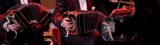 bandoneon in tango orchestra